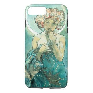 Clair de lune Clair De Lune Art Nouveau d'Alphonse Coque iPhone 7 Plus