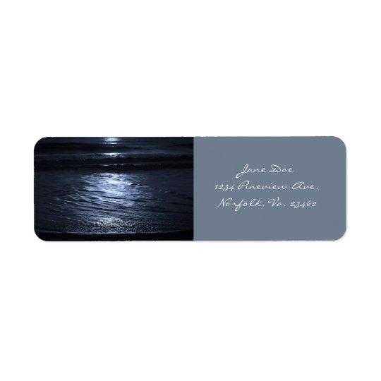 Clair de lune par Shirley Taylor Étiquette D'adresse Retour