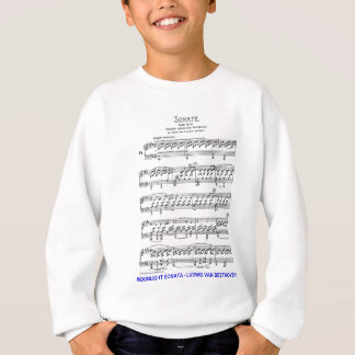 Clair de Lune-Sonate-Ludwig-Beethoven Sweatshirt