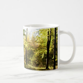 Clairière de forêt mug
