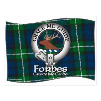 Clan de Forbes Carte Postale
