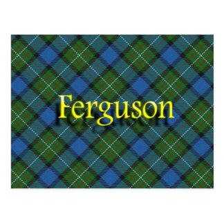 Clan écossais Ferguson Carte Postale