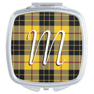 Clan écossais MacLeod de beauté de plaid de tartan Miroirs De Maquillage