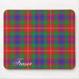 Clan écossais majestueux Fraser de tartan de Lovat Tapis De Souris