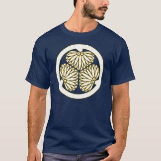 Clan lundi - blanc/équilibre de Tokugawa d'or T-shirt