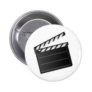 Clapet de film badge rond 5 cm