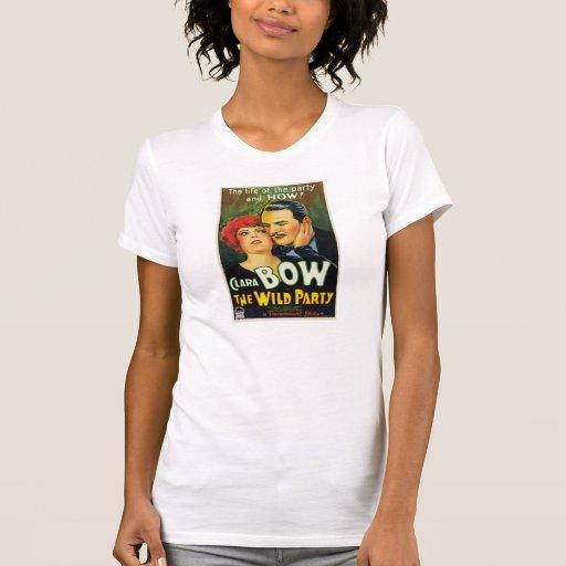 """Clara Bow """"l'affiche 1929 de film de partie T-shirt"""