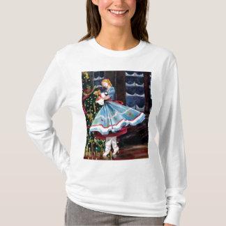 Clara et son T-shirt à manches longues de