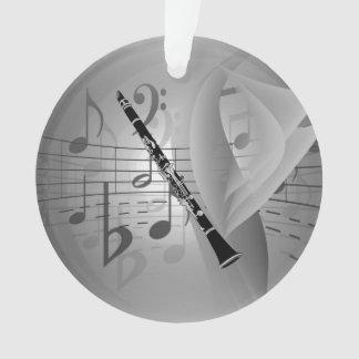 Clarinette avec des accents musicaux (les deux