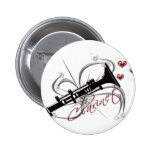 Clarinette d'amour pin's