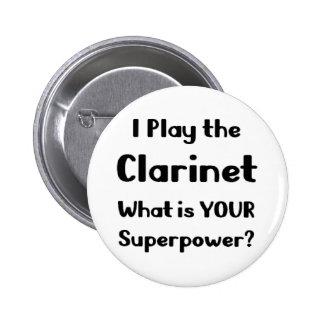 Clarinette Pin's