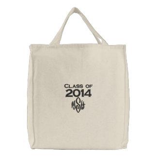 Classe de 2014 et votre sac brodé par initiales