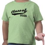 Classe de 2026, T-shirt drôle mignon d'enfant en b