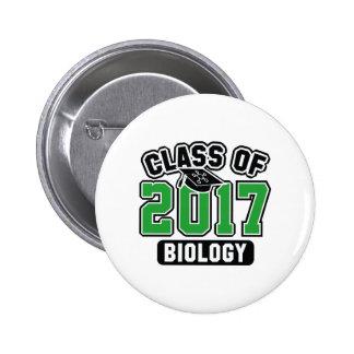Classe de la biologie 2017 pin's