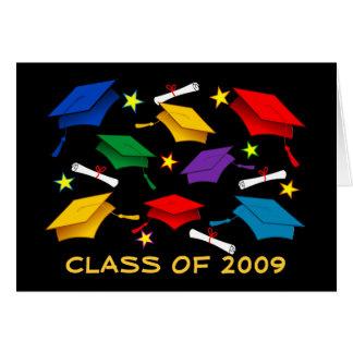 Classe de l'obtention du diplôme 2009 - carte de
