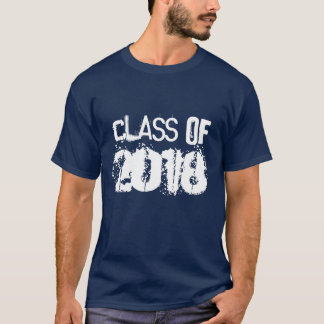 Classe d'obtention du diplôme du T-shirt 2018