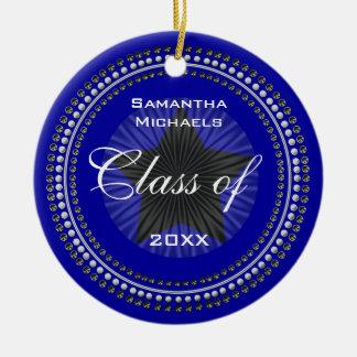 Classe d'ornement d'obtention du diplôme de ornement rond en céramique