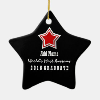 Classe du diplômé le plus impressionnant 2015 du ornement étoile en céramique