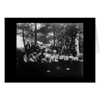 Classe d'université d'Oberlin de 1898 Cartes