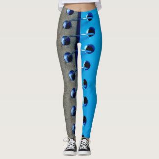 Classeur bleu personnalisé leggings