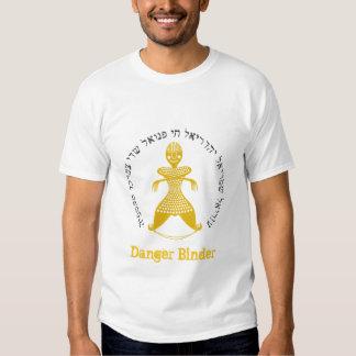 Classeur de danger t-shirt