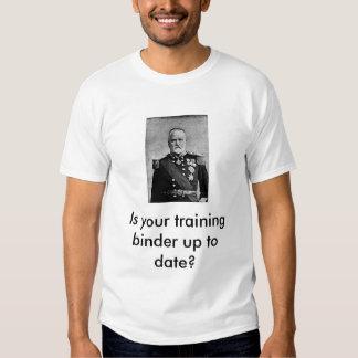 Classeur de formation t-shirts
