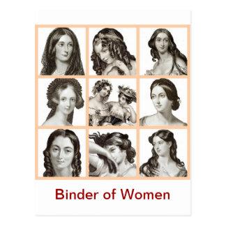 """""""Classeur des femmes"""" - Carte Postale"""