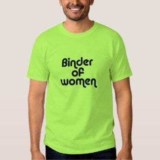 Classeur des femmes t-shirt
