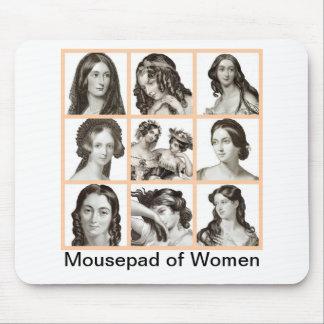 """""""Classeur des femmes"""" - Tapis De Souris"""