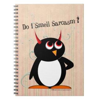 Classeur drôle mauvais de Penguin™, de nouveau à Carnet