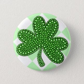 Classique de shamrock de Jour de la Saint Patrick Badge