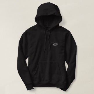 Classique de sweat - shirt à capuche de FLSC, noir