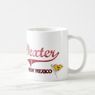 Classique de ville de Dexter Nouveau Mexique Mug Blanc