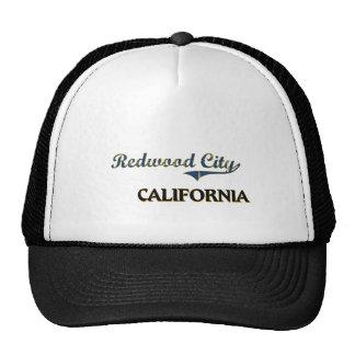 Classique de ville de Redwood City la Californie Casquettes De Camionneur