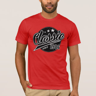 Classique depuis 1986 t-shirt