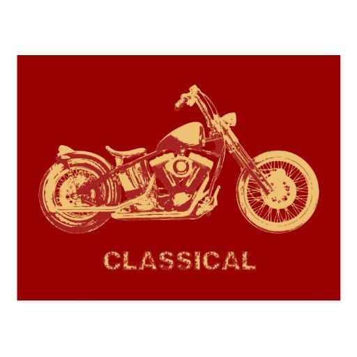 Classique - rouge carte postale