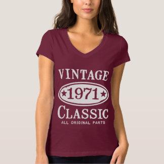 Classique vintage 1971 t-shirt