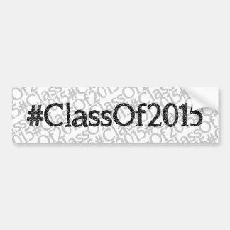 ClassOf2015 Autocollant Pour Voiture