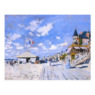 Claude Monet : À la plage de Trouville Cartes Postales