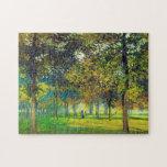 Claude Monet : Allee Du Champ De Foire Puzzle