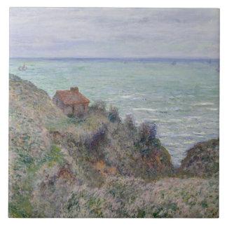 Claude Monet - cabine de la montre de douane Grand Carreau Carré
