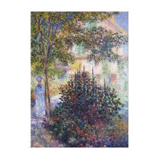 Claude Monet Camille dans le jardin à Argenteuil Toiles