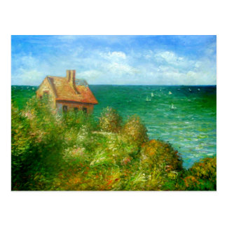 Claude Monet : Cottage de Fishermans chez Carte Postale