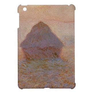 Claude Monet | Grainstack, Sun dans la brume Coques Pour iPad Mini