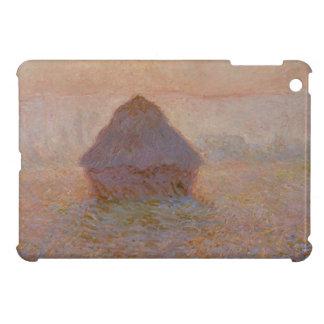 Claude Monet | Grainstack, Sun dans la brume Étuis iPad Mini