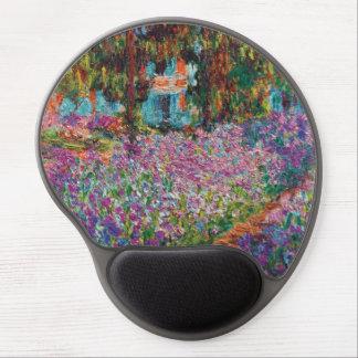 Claude Monet - iris en beaux-arts du jardin de Tapis De Souris Avec Gel