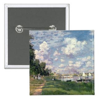 Claude Monet | la marina à Argenteuil, 1872 Badge