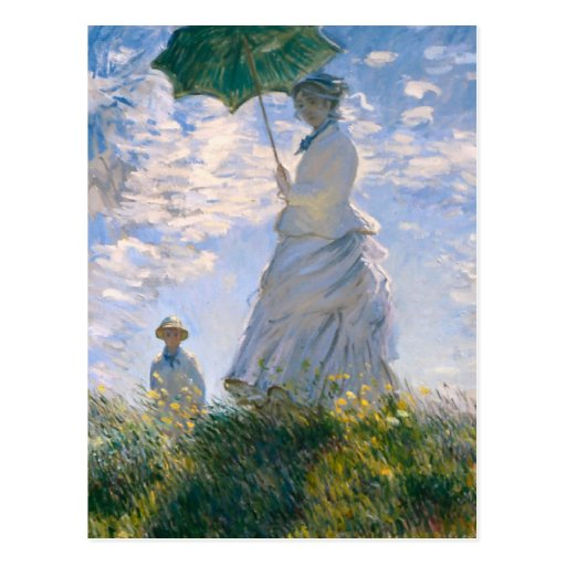 Claude Monet - la promenade Cartes Postales
