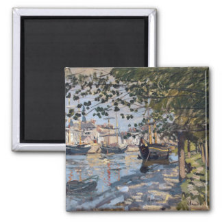 Claude Monet | la Seine à Rouen, 1872 Aimant