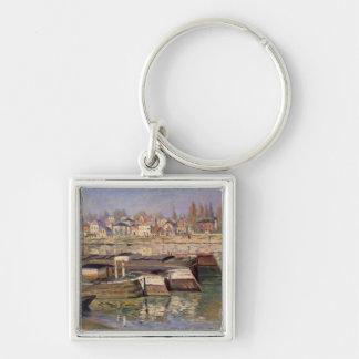 Claude Monet | la Seine chez Asnieres, 1873 Porte-clés